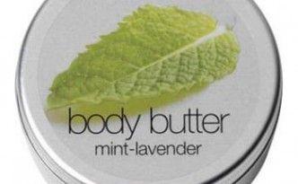 Minze-Lavendel Body Butter der Firma Greenland