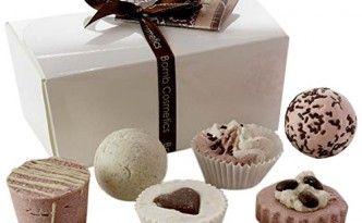 Bomb Cosmetics Badepralinen Geschenkset Chocolate Bath